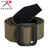 Rothco Reversible Airport Friendly Riggers Belt - Black / Coyote