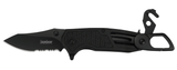 Kershaw FUNXION EMT - BLACK MOLDED HANDLED