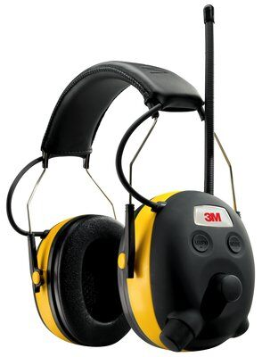 3M™ Digital WorkTunes™ Hearing Protector and AM/FM Stereo Radio, featuring Voice Assist