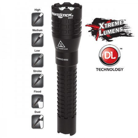 Nightstick Xtreme Lumens™ Tactical Dual-Light™ Flashlight – USB Rechargeable