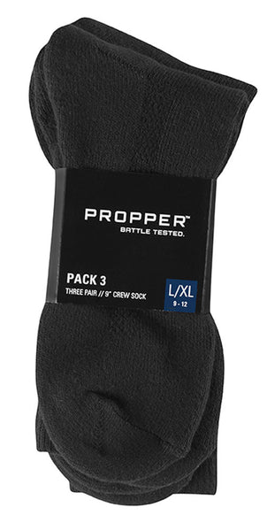 "Propper® Pack 3 9"" Crew Sock"