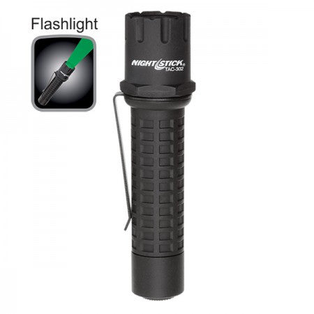 Nightstick Polymer Tactical Flashlight - Green LED