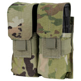 DOUBLE M4 MAG POUCH WITH SCORPION OCP