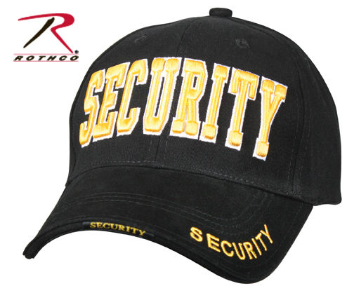 Rothco Embroidered Cap SECURITY