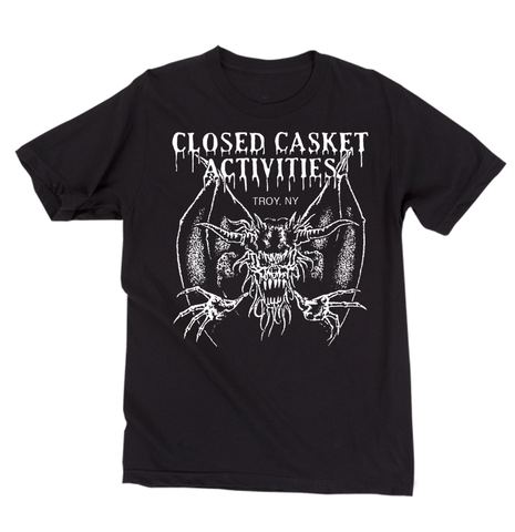 Closed Casket Activities - Creature T-Shirt