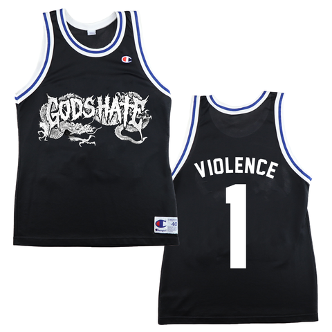 God's Hate - Champion Basketball Jersey