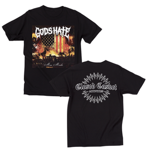 God's Hate - Mass Murder Album T-shirt