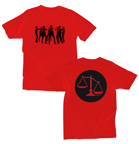 Regional Justice Center - Red Cops Tee