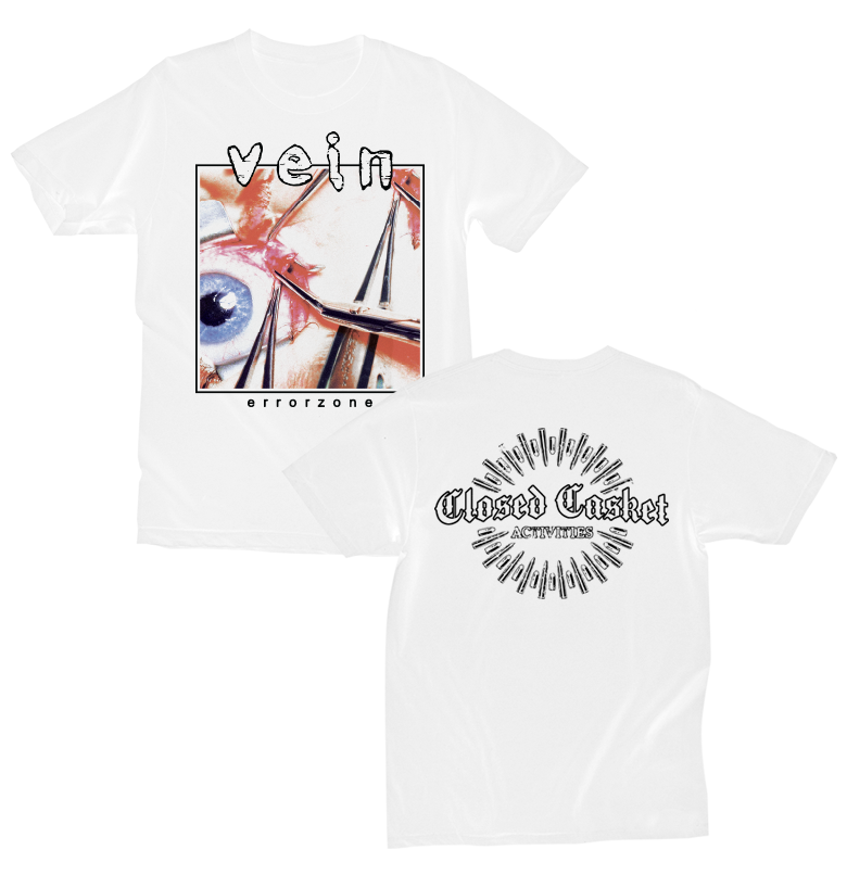 Vein.FM - Errorzone White T-shirt