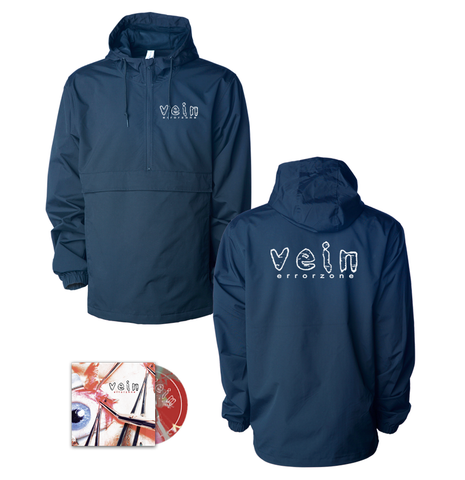 Vein.FM - Errorzone Windbreaker/CD Bundle