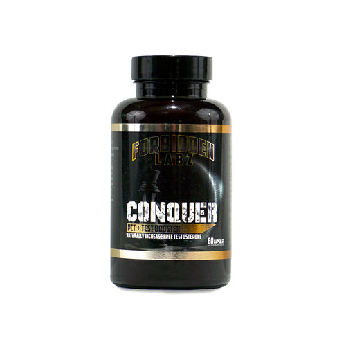 Conquer • Natural Test Booster • PCT • Libido