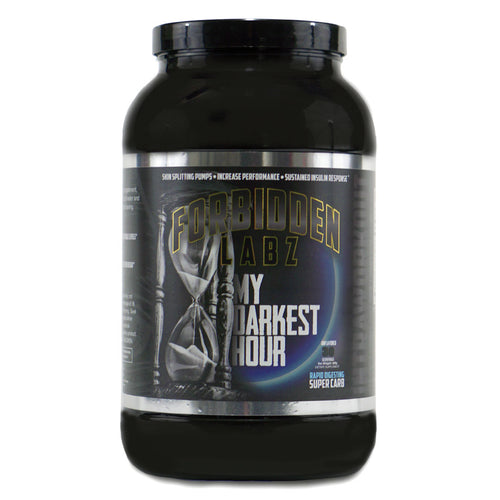 My Darkest Hour • Super Carb • Pump • Sustained Energy
