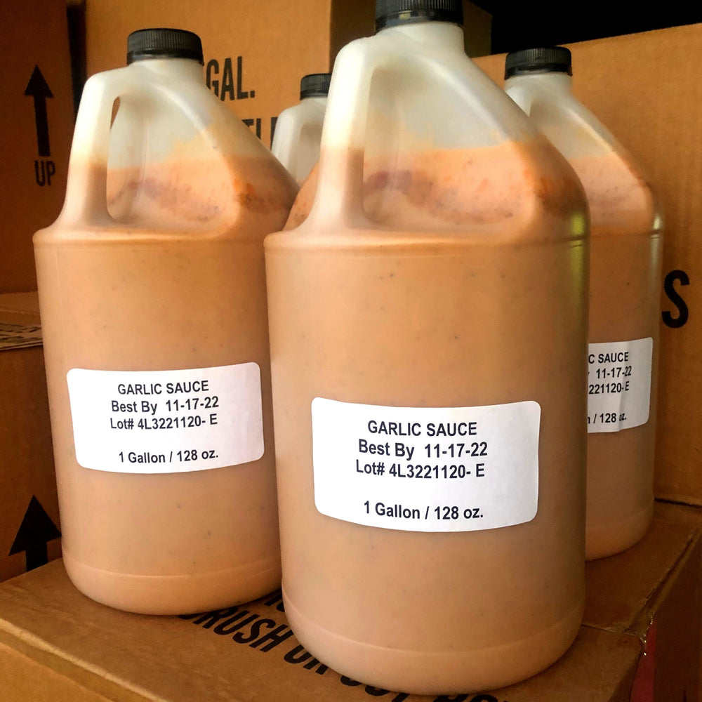 Garlic Peri-Peri SAuce Gallons for Restaurants