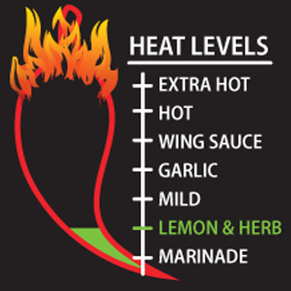 Load image into Gallery viewer, Lemon and Herb Peri-Peri Heat Level Meter