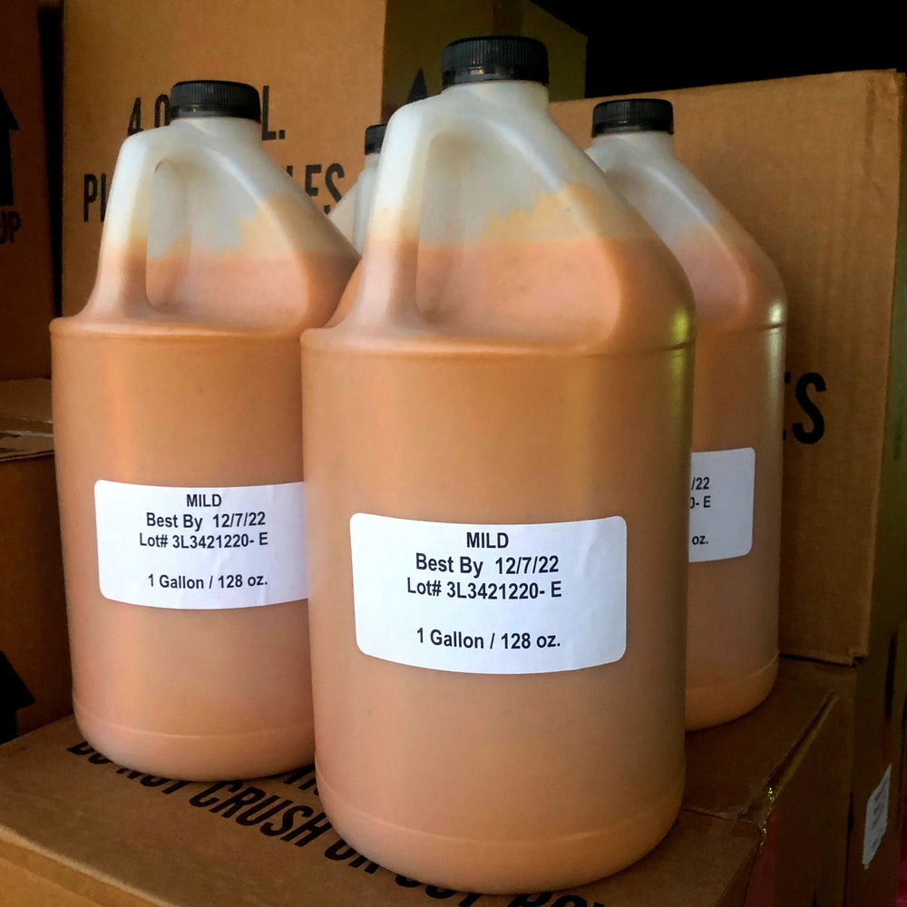 Mild Peri-Peri Sauce - 4 Gallons per case for Restaurants