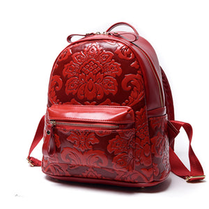 Woman Backpack PU Leather School Bag - Hijab Modesty İstanbul