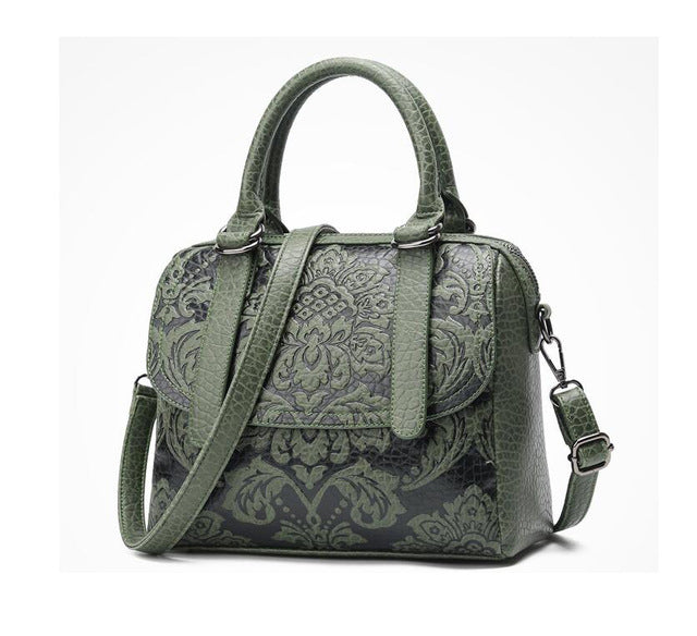 Embossed Designer Crossbody Bags - Hijab Modesty İstanbul