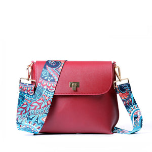 Crossbody Woman Bag with Colorful Strap - Hijab Modesty İstanbul