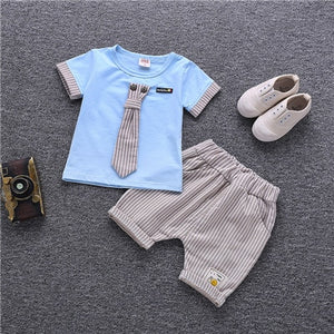 Summer Cotton Cute Sets Baby Boy Outfit Costumes Baby Clothing Set - Hijab Modesty İstanbul