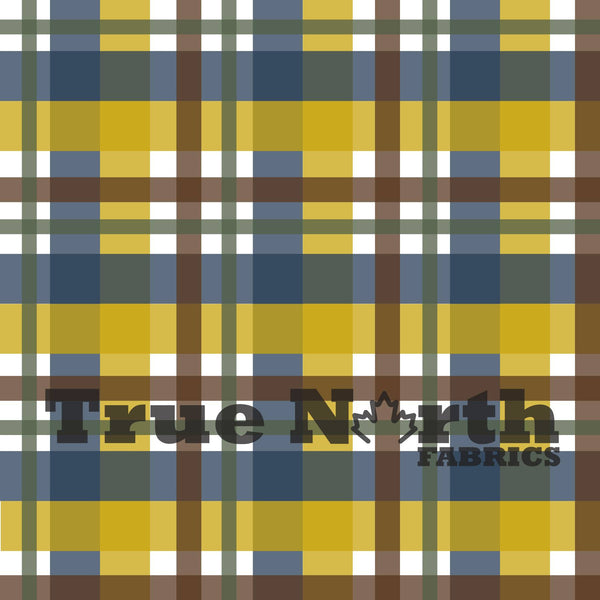 True North Bear Plaid French Terry
