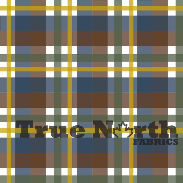 True North Bison Plaid French Terry