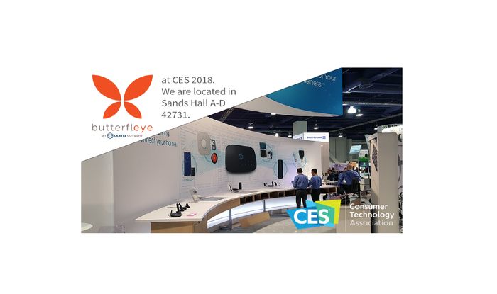 Check out Butterfleye at CES