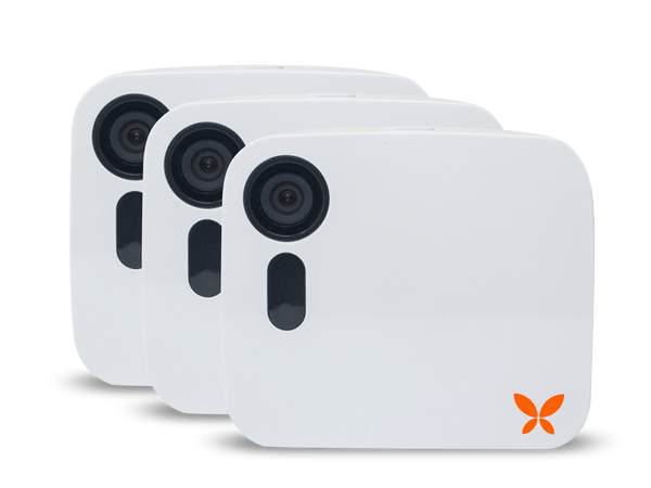 Butterfleye Wireless Full HD Security Camera [Three Pack]