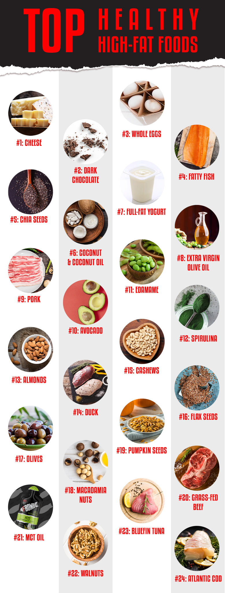 healthy high fat foods