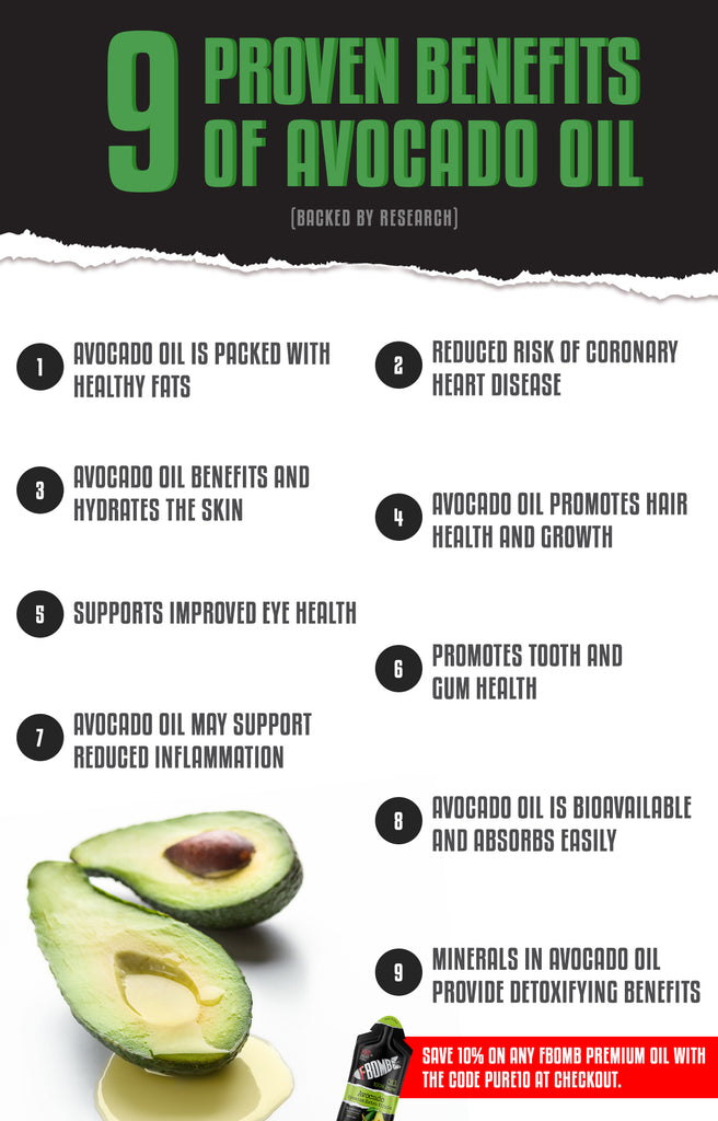 benefits of avocado oil