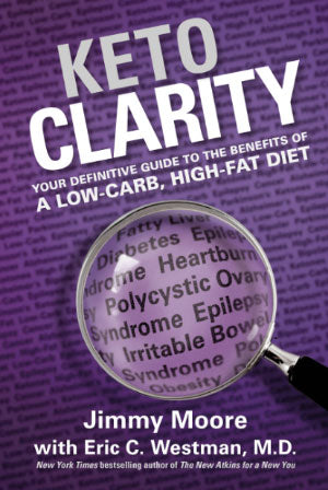 Keto Clarity book Jimmy Moore