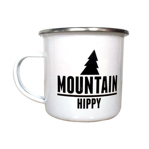 Open image in slideshow, Mountain Hippy Enamel Mug