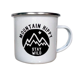 Open image in slideshow, Stay Wild Enamel Mug