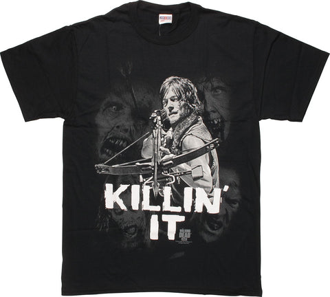 The Walking Dead Daryl Killin' It T-Shirt