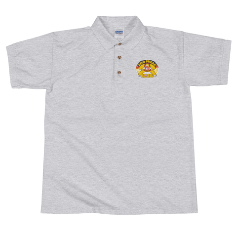 98 KZEW -FM Vintage Style Zoo Embroidered Polo Shirt