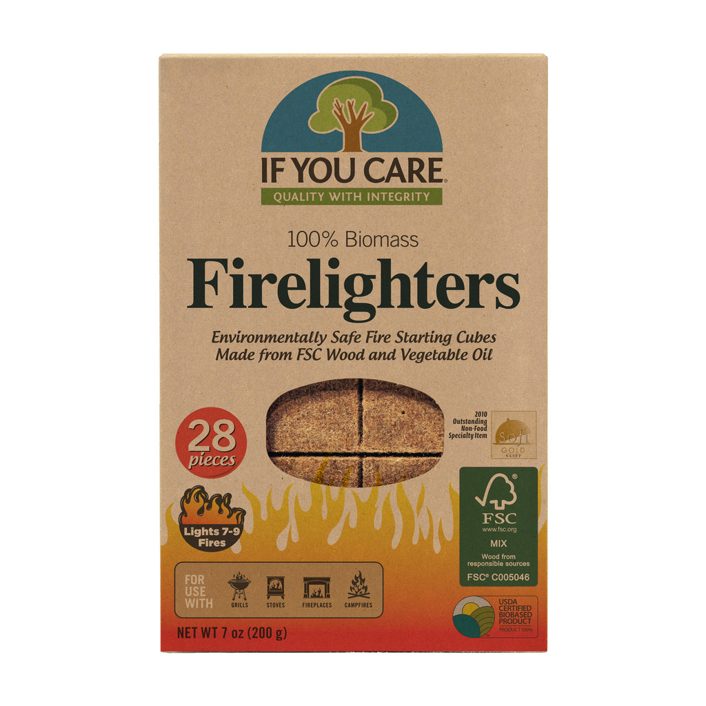 100% Biomass Firelighters - Tablet