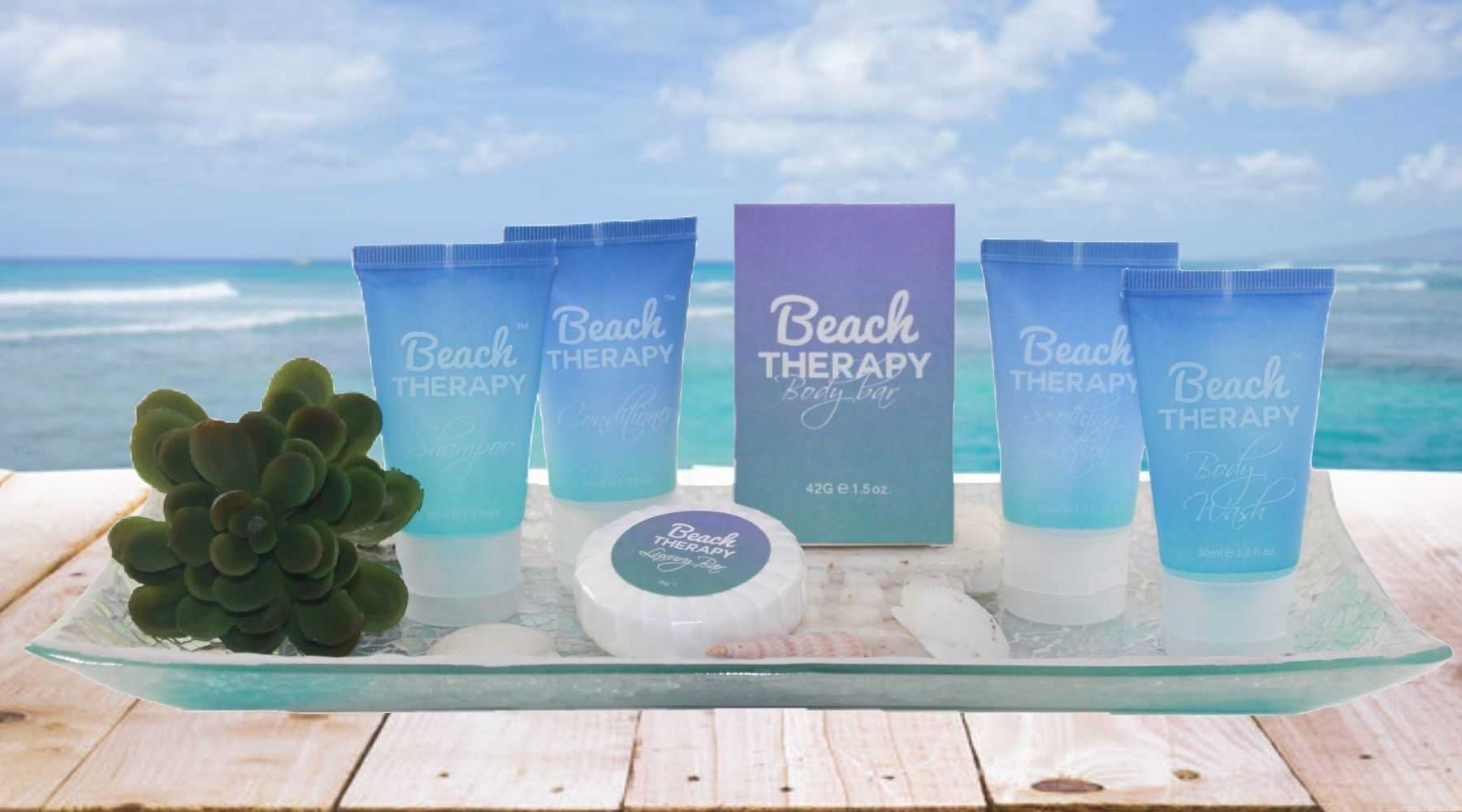 Beach Therapy Guest Toiletries
