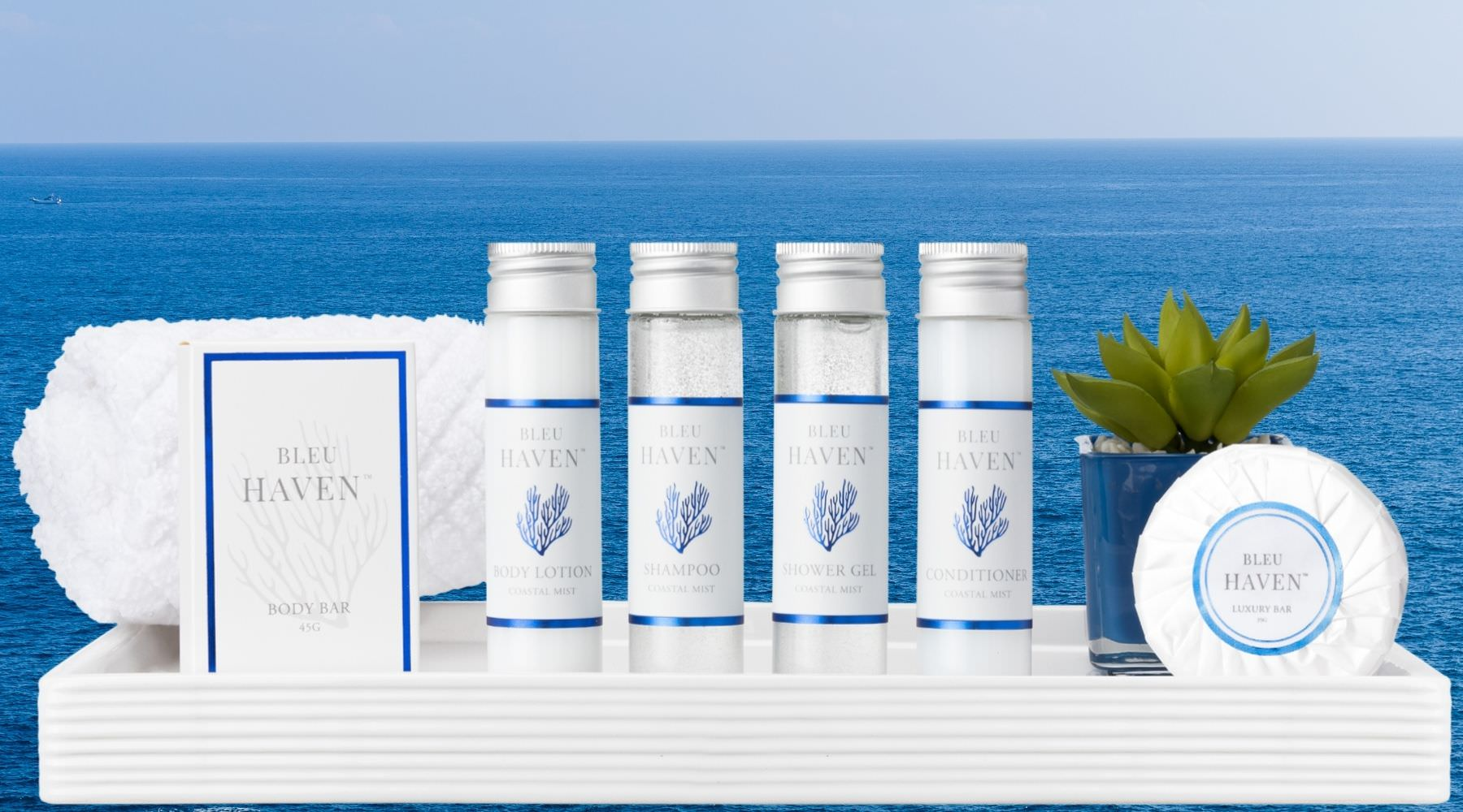 Bleu Haven Guest Toiletries