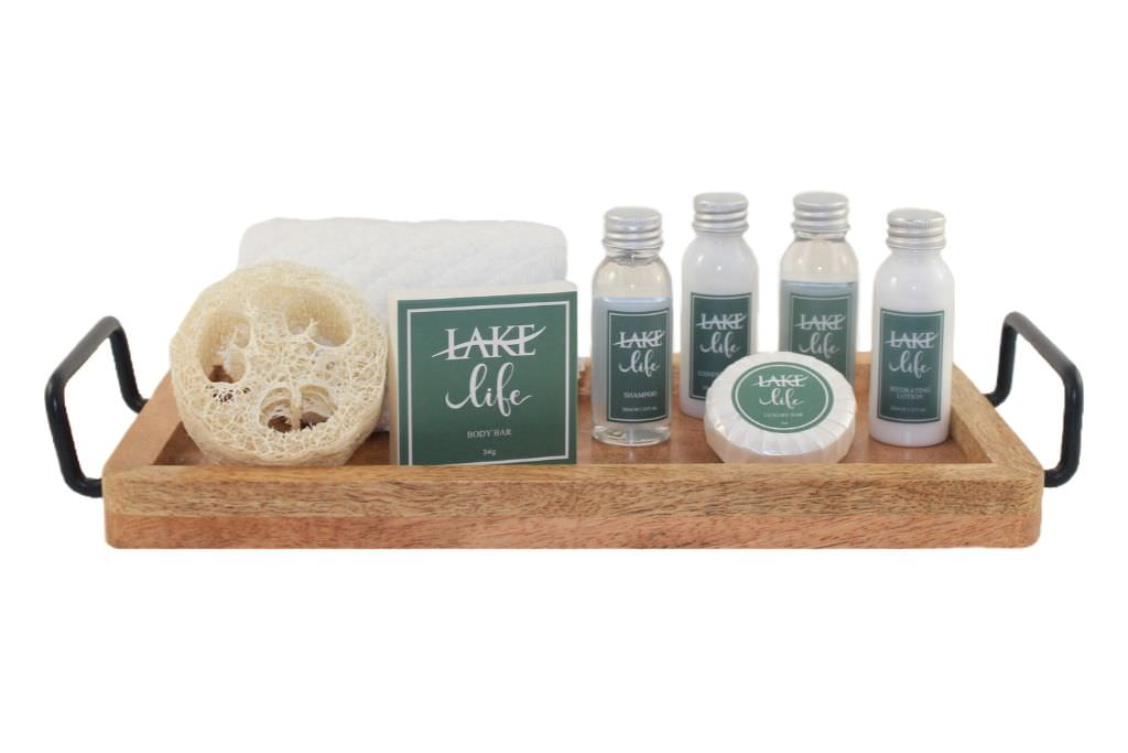 hotel soap and shampoo rental ready kit