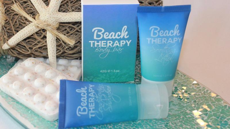 Beach Therapy ~ 3 pc Amenity Set - Vacation Home Amenities