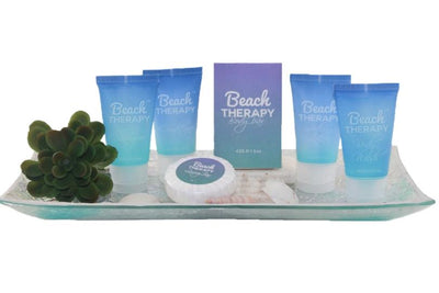 Beach Therapy hotel size toiletries