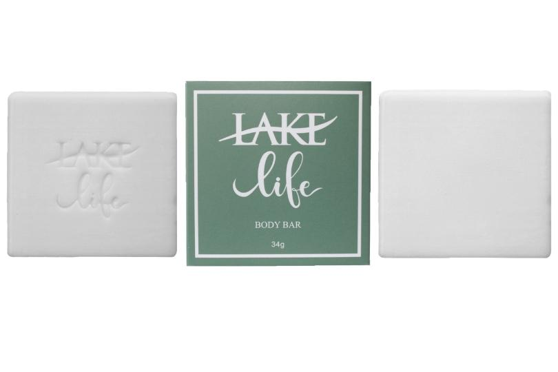 lake life hotel soap bar