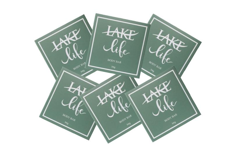 Lake life hotel soap bars
