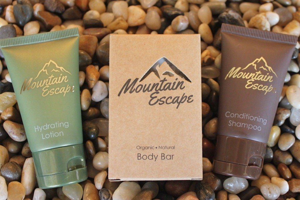 Mountain Escape Travel Size Toiletries