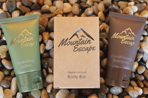 Mountain Escape ~ 3 pc Amenity Set - Vacation Home Amenities