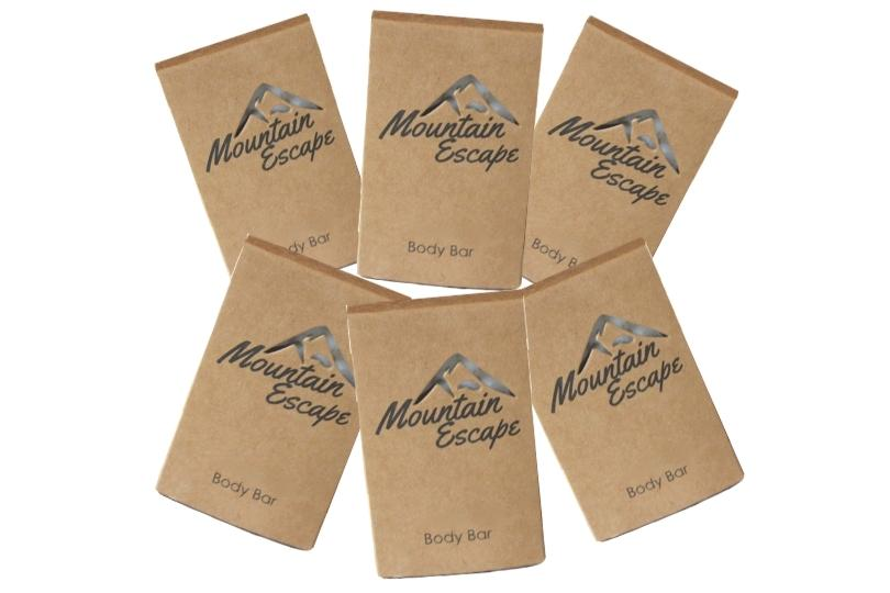 mountain escape hotel soap bars