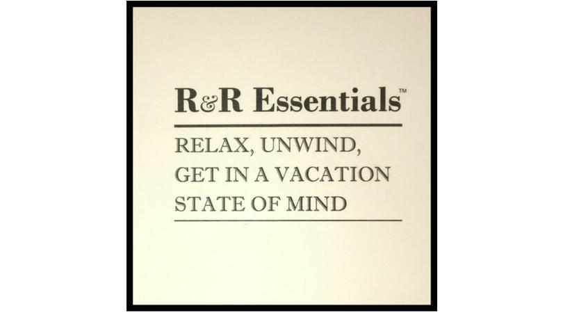 Samples ~ R&R Essentials - Vacation Home Amenities