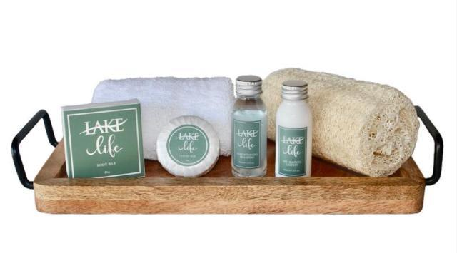 Lake Life ~ Wrapped Hand & Facial Soap 1.2oz - Vacation Home Amenities
