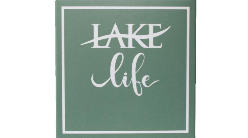 Lake Life travel size lotion