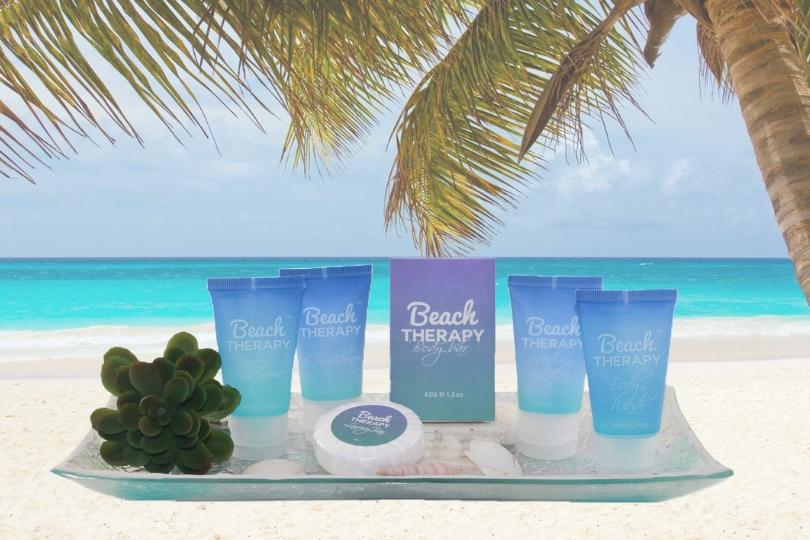 Beach Therapy mini shampoo and conditioner