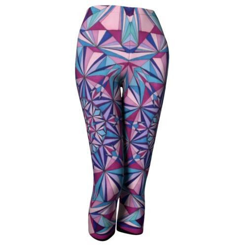 diamond light mandala leggings